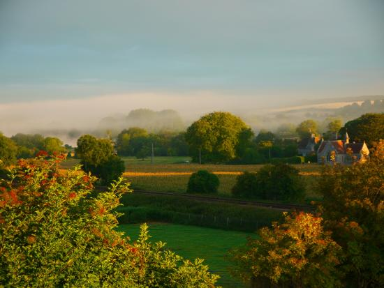 Little Langford, UK: Views around the farmhouse.