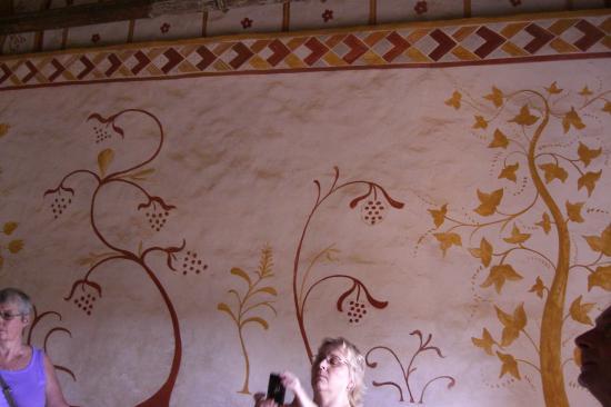 Peintures à Locre De La Chambre Seigneuriale Photo De Guédelon