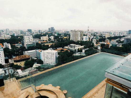Amazing Infinity Pool Picture Of Hotel Des Arts Saigon Mgallery Ho Chi Minh City Tripadvisor