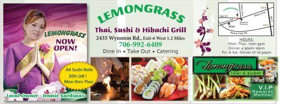 Lemongrass Thai & Sushi