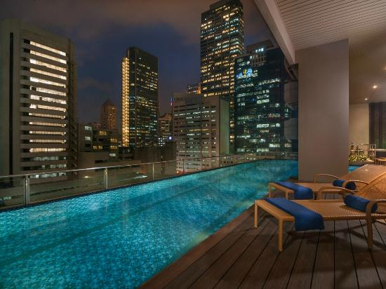Swimming Pool Picture Of Citadines Salcedo Makati Makati Tripadvisor