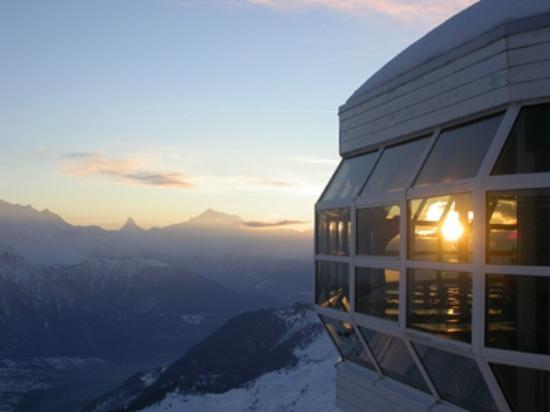 Aussicht Bergrestaurant Bettmerhorn
