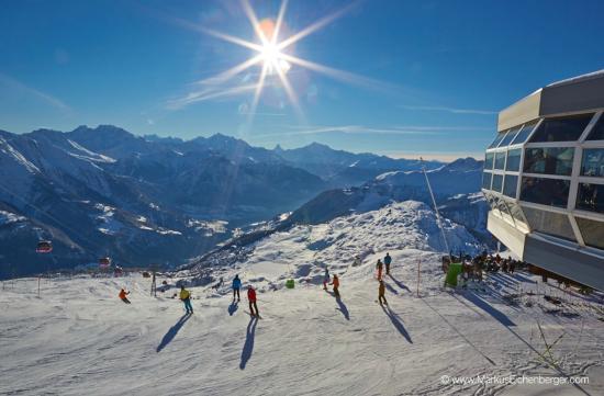 Bergrestaurant Bettmerhorn: Wintersport in der Aletsch Arena