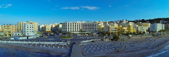 Blue Sky City Beach Hotel: Aerial View of Blue Sky City Beach Hotel