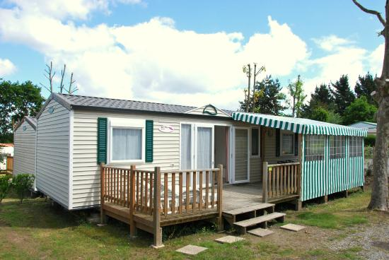 Camping les Alouettes : mobil home