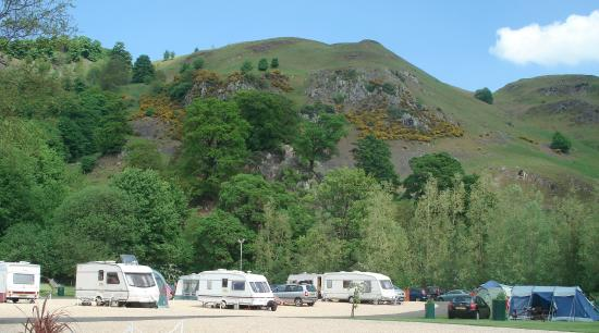 Witches Craig Caravan Park : Caravans, Motohomes and Tents Welcome