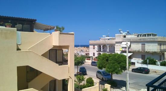 B&B Agrodolce : vista dal balcone