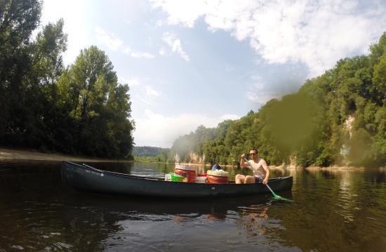 Siorac-en-Périgord, Франция: Canoe Raid 3