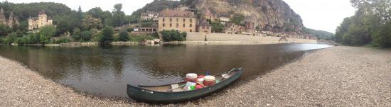 Siorac-en-Périgord, Francia: Canoe Raid 1