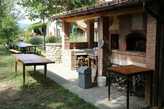 Agriturismo I Gergoni: Pizza party - de houtoven