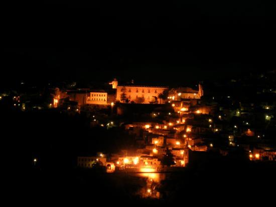 Palazzo Branciforti by night