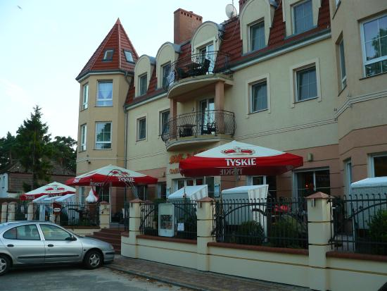 Villa Del Mar: Widok od frontu
