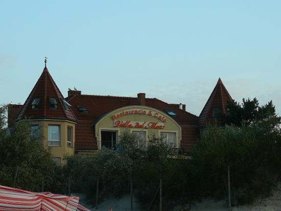 Villa Del Mar: widok z plaży