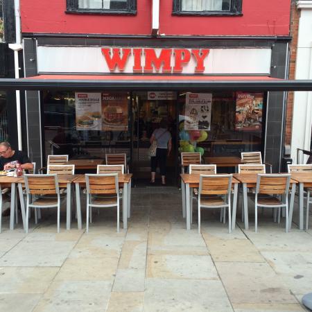 wimpy colchester restaurant reviews phone number. Black Bedroom Furniture Sets. Home Design Ideas