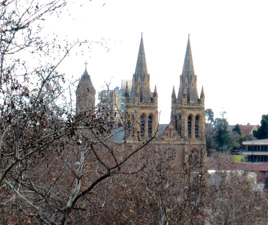 St peter 39 s cathedral from north terrace picture of st for 223 north terrace adelaide