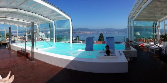 Foto de gran hotel nagari boutique spa vigo piscina for Hoteles en vigo con piscina