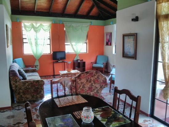 Calibishie, Dominica: entertainment area