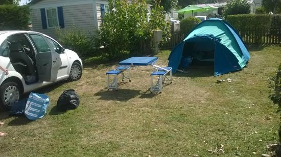 La Yole : Emplacement camping