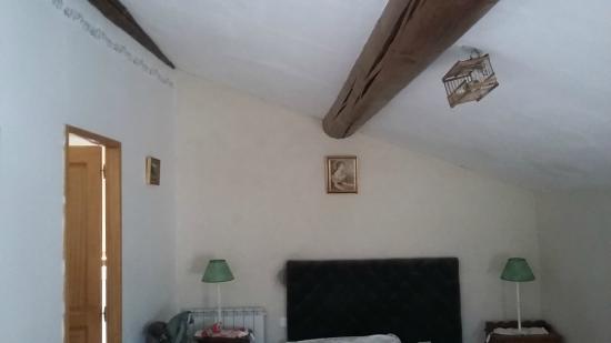Mas des Baux : Room from the door