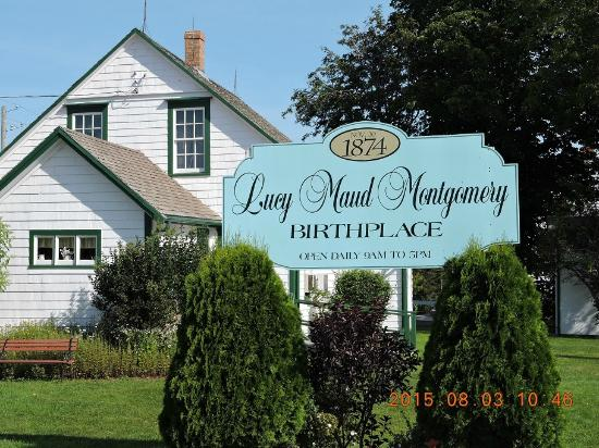 Lucy Maud Montgomery Birthplace: entrada
