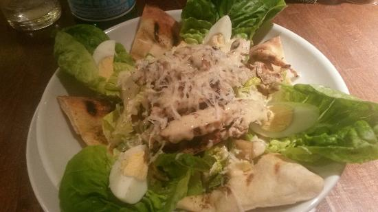 Prezzo - Victoria Place: Ceasar salad..... gnam gnam