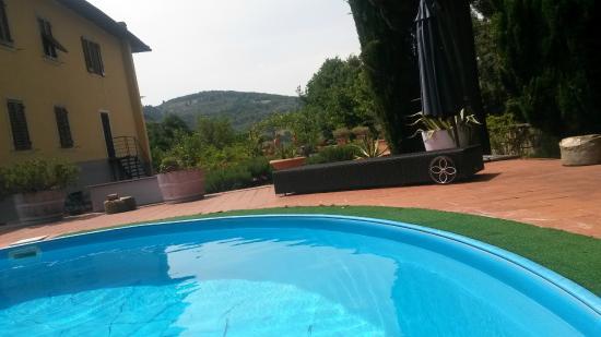 Fattoria Villa Le Sorgenti : piscina
