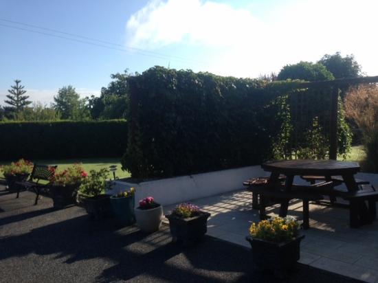 Bennettsbridge, Irland: jardim