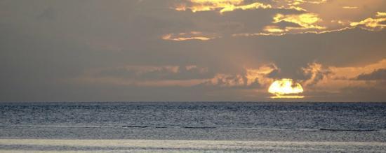 Patuno Resort Wakatobi: sunset