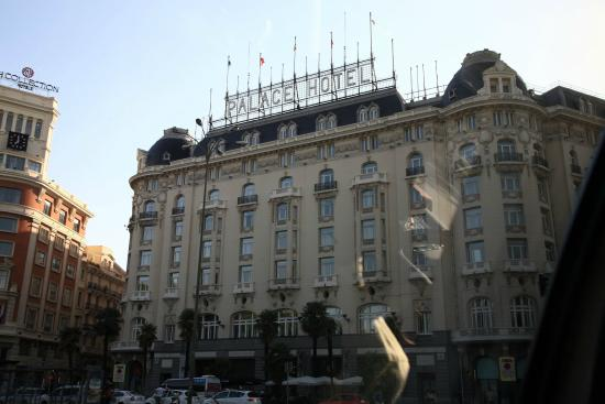 Hotel front picture of the westin palace madrid madrid - Hotel the westin palace madrid ...