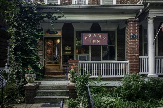 Adam's Inn: front door