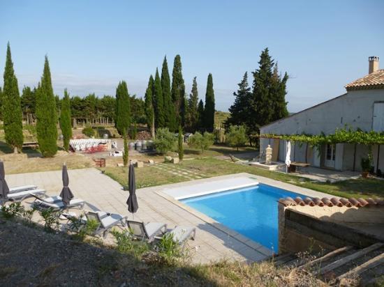 Domaine de la Ramade : Area piscina