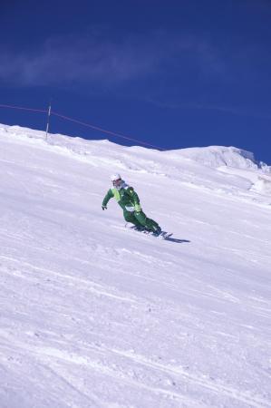 Optimum Snowsports : Snowboard instructor