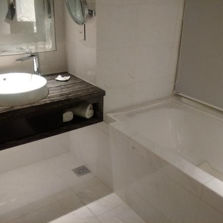 Carlton City Hotel Singapore: Tub good enough for one fat one