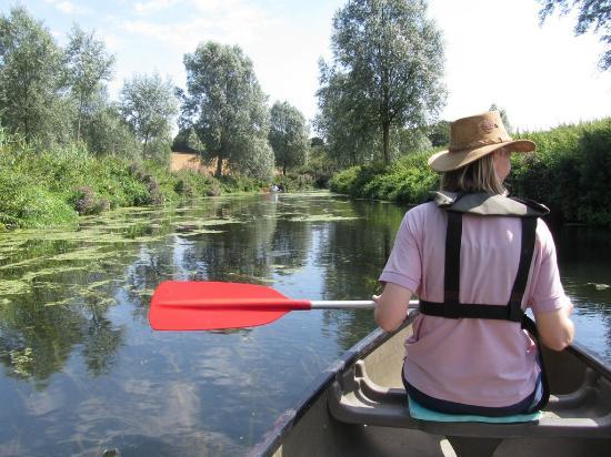 Bures, UK: River Stour Boating