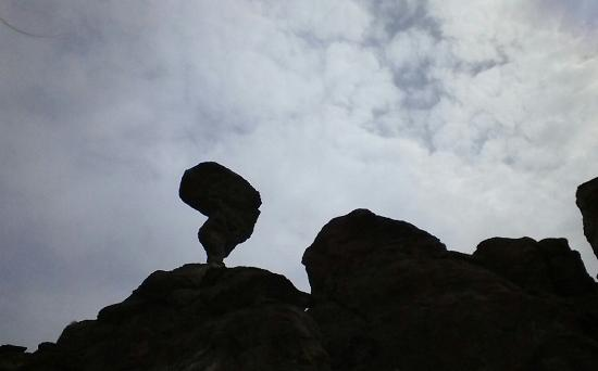 Oregon Trail Motel: Balanced Rock- (just a few miles from Buhl)