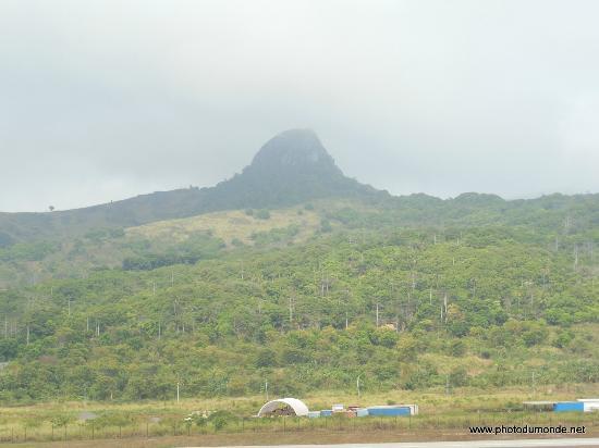 Annobon Island, Ekvatorial-Guinea: le volcan