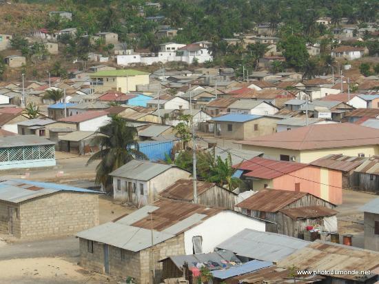 Annobon Island, Guinea Xích Đạo: La ville Pale