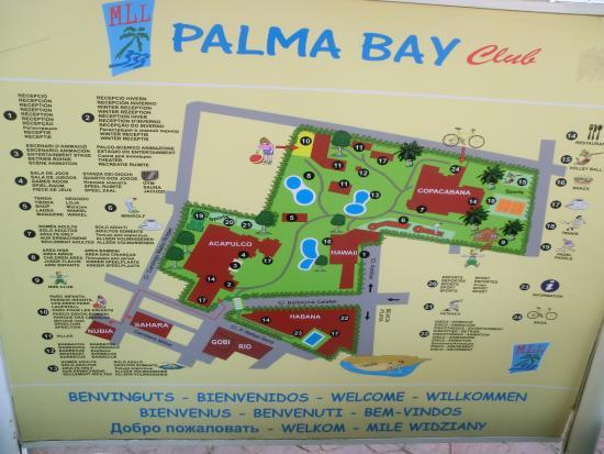 Habitaci n copacabana picture of palma bay club resort for Plano habitacion