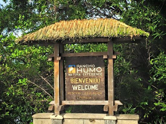 Nicoya, Costa Rica: Rancho Humo main entrance