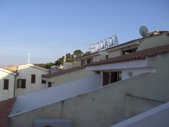 Hotel Piccada: отель с улицы