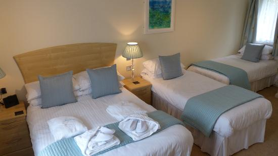 The Old Quay House: Saltings En-suite Family Room