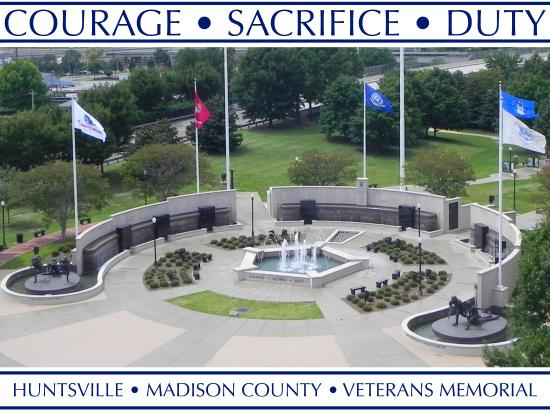 ‪Huntsville Madison County Veterans Memorial‬