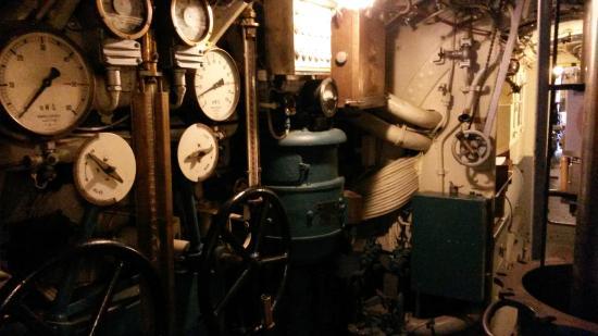 Submarine Vesikko (Sukellusvene Vesikko): Sala de torpedos