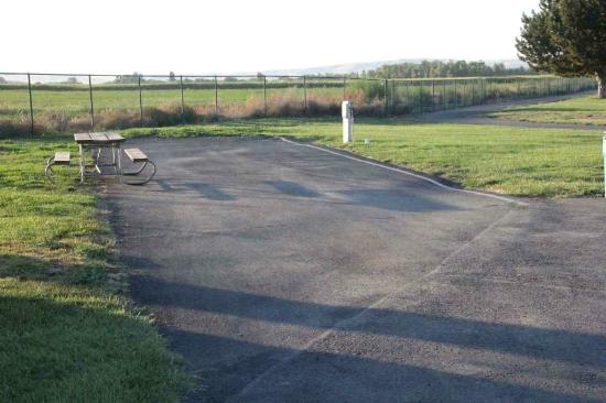 Yakama Nation Resort RV Park: Sites were reasonably level but required some adjustment
