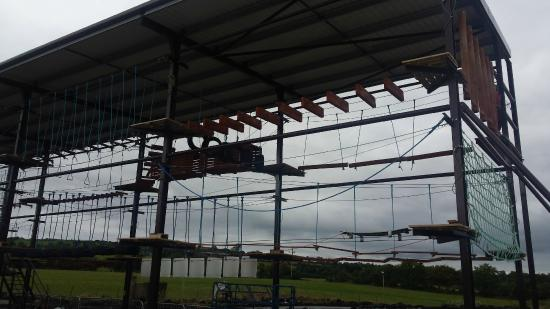 Letterkenny, Ireland: Rope and Zipline Course