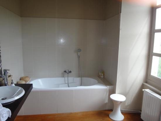 Domaine de Carriere : la salle de bain