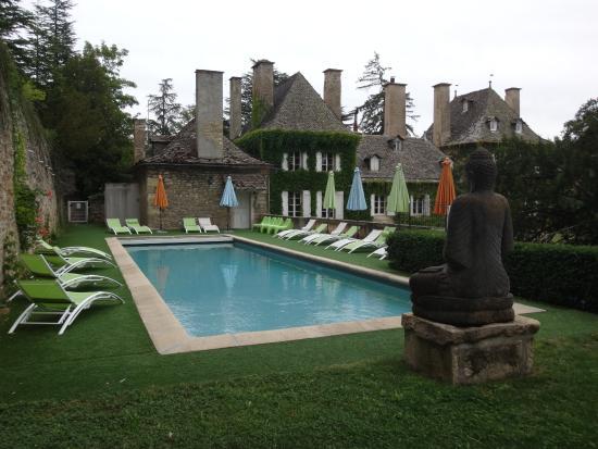 Domaine de Carriere : la piscine