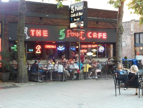 Five Point Cafe Happy Hour