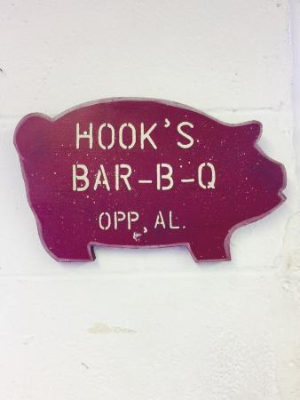 Opp, AL: Hook's BBQ
