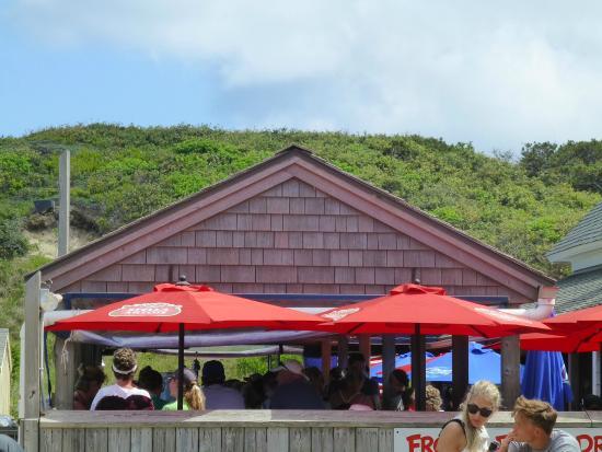 Wellfleet Beachcomber : Deck view